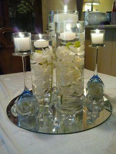 Homemade centerpiece harley ivys wedding board pinterest homemade centerpieces junglespirit Image collections