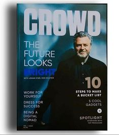 """Crowd1 Earner on Instagram: """"CROWD - the new revolutionary monthly magazine is available in both digital and printed version, with the lastest Crowd1 news, articles,…"""" Monthly Magazine, News Articles, Revolutionaries, Work On Yourself, Crowd, Interview, Success, Printed, Lifestyle"""
