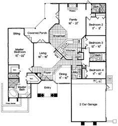 Discover the Desoto Lake Sunbelt Home that has 4 bedrooms and 3 full baths from House Plans and More. See amenities for Plan Mediterranean House Plans, Mediterranean Design, Contemporary House Plans, Contemporary Bathrooms, House Plans And More, House Floor Plans, Vaulted Living Rooms, Florida House Plans, Stucco Homes