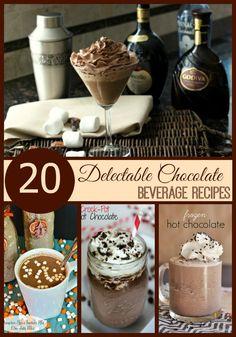 20 Delectable Chocolate Beverage Recipes