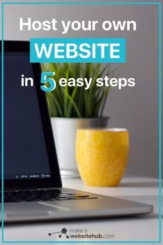 Host a website in 5 easy steps from the comfort of your home on your own personal computer. No technical knowledge required.