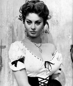 Sophia Loren ~ (1934 to present) ~ Italian actress