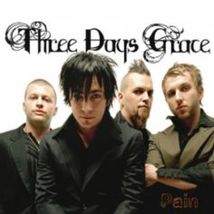 3 days grace. Been listening to them for over a half an hour apparently...