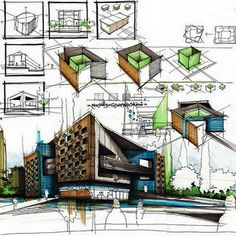 Architecture - Daily Sketches - Buscar con Google