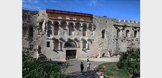 Zlatna vrata Split Croatia, Le Palais, Bosnia, Dalmatian, Montenegro, Golden Gate, Barcelona Cathedral, Island, Mansions