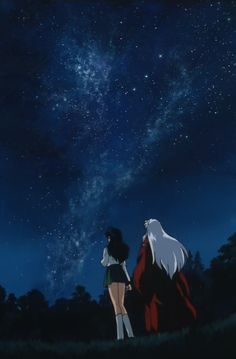 My life is InuYasha. It's the best thing that ever happened to me. No InuYasha, no life. I just love it so much that I can't put it into words.