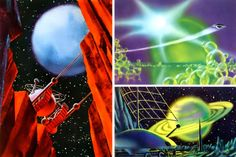 Soviet science fiction art from the 1970s