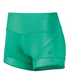 Look at this ASICS Cool Mint Fit-Sana™ Booty Shorts on #zulily today