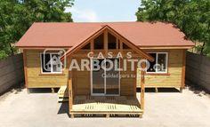 Modelos de Casas prefabricadas de madera nativa  Casas Arbolito