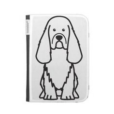 Sussex Spaniel Dog Cartoon Cases For Kindle