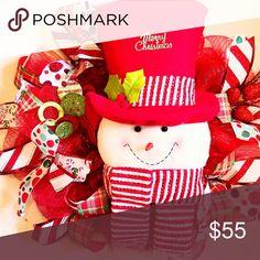 Christmas Wreath Custom Made Wreath Other