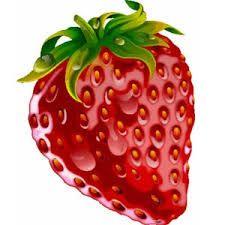 Resultado de imagen para frutas animadaspara colorear