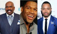 Black Men Doing It Big: Steve Harvey, Terrence J & Michael Strahan Score Major TV Deals