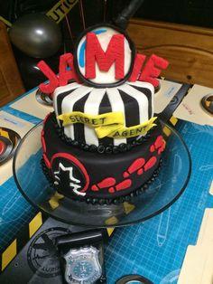 Spy Party Cake