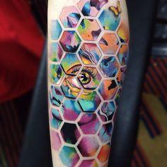 Tatuaje realizado en la expo tattoo 2015 y segundo lugar en la categoría color!!! @electricink @lagaleriatattoostudio #electricink #expotattoo2015 #AlexBruz