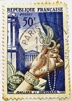 Commemorative Stamp | Commemorative French Stamp Stock Photography - Image: 17944412
