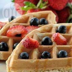 Joghurt Vollkornwaffeln @ de.allrecipes.com