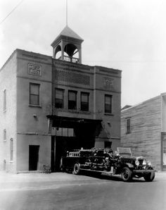 The Firehouse story begins in 1894 when fire engines were large wagons, pulled by a team of horses that transported firemen, hoses and fire equipment.
