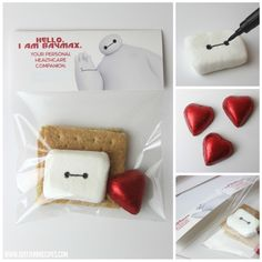 DIY Baymax Smores Kit