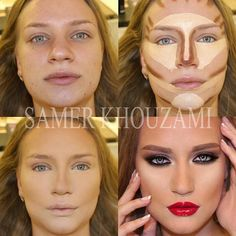 Contouring and highlighting like a pro
