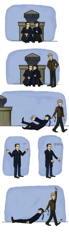 Don't touch my Sherlock! by AlexandraSasha.deviantart.com on @deviantART