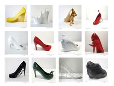 12 Shoes for 12 Lovers – Sebastian Errazuriz + Melissa A Boutique, Take That, Lovers, Studio, Shoes, Google Search, Artist, Beauty, Fashion