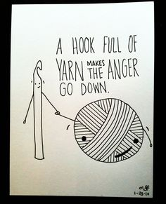 GIVE ME YARN!!!  -Crochet, Knitting and Fiber Humor
