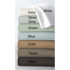 Egyptian Cotton 800 Thread Count Extra Deep Pocket Sheet Set - Overstock™ Shopping - Great Deals on Tribeca Living Sheets For Brandon's bedroom in Taupe
