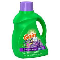 Gain 2X Moonlight Breeze HEC Liquid Laundry Detergent, 57ld, 120oz