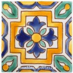 Moroccan tiles for kitchen back-splash