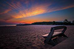 Sunrise On The Beach  - Fair Haven, New York by Bradley P Smith