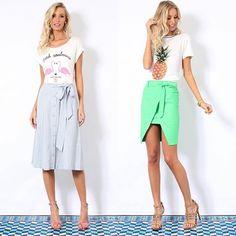 F.U.N. • Para um look divertido e cheio de personalidade aposte nas blusas estampadas da @lindademorrer! • Coloridas e em tecidos leves, são garantia de sucesso nesse verão! Disponível no site www.loft111.com.br 💗🍍 #temnoloft111