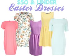 The Heathered Life: Fab Finds Friday: $50 & Under Easter Dresses