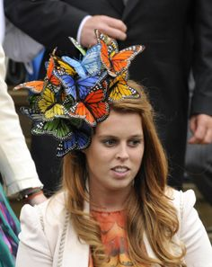 Princess Beatrice attends the wedding of Peter Phillips. I have all the materials to make one of these