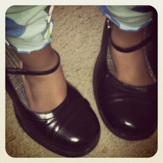Immutable Ramblings: Big Shoes to Fill - Little Girl Dressed in Momma's High Heels