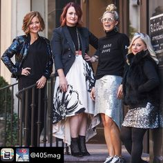 Such FUN! Check out the new @405mag  #betsykingshoes #paseoartsdistrict #myhappyplace #iloveshoes  Repost from @405mag using @RepostRegramApp - This is the ideal season for adding some cool-looking style to your ensemble  try these trendy tips from local fashionistas (L to R)  @okcrunnergirl @betsykingshoes @grettasloane and @balliets. Read the full story online now {link in bio} Story by @christine.eddington  by @charlien.photo