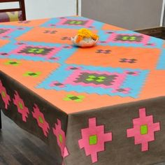 Geometric Star Table Cover #tablecovers #tablecoversonline