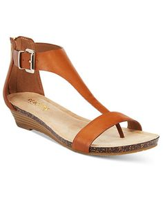 Kenneth Cole Reaction Great Gal Wedge Sandals   macys.com Low Wedge Sandals, Low Wedges, Wedge Shoes, Summer Wedges, Summer Sandals, Sandals Outfit, Shoes Sandals, Flats, Flip Flop Shoes
