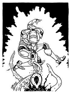 "artorelse: ""SAMUS ARAN by Rian Miller Art…Or Else! """