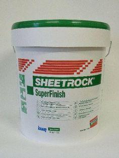 SHEETROCK® Super Finish Spachtelmasse 20 kg - SOFORT LIEFERBAR: Amazon.de: Baumarkt