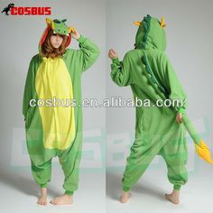 COSBUS Chinese dragon Kigurumi Animal Pajama Onesie for adult pokemon Costume Sleepwear women COSPLAY S/M/L/XL $2~$20