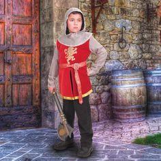 84cd2a8aa9fee Sir Lancelot Tunic for Children. Royal LookCotton VelvetChain MailRenaissance  ClothingMedieval ...