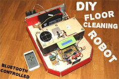 Picture of CleanBOT- Your DIY eco-friendly floor cleaning robot