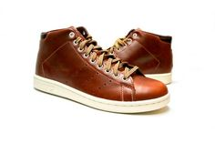 Want! adidas Stan Smith Mid x Kazuki x Mark McNairy Fox Red