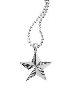 Lagos North Star Pendant Necklace with Diamonds j0CQjdXZ3