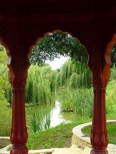 Krisna valley , Somogyvámos Hungary, Gazebo, Outdoor Structures, Plants, Beautiful, Places, Kiosk, Pavilion, Plant