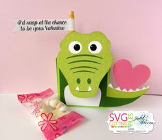 Valentine Kit Blog Hop-Using Alligator Fold Over Box