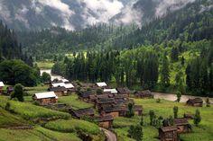 An Aerial view of Taobat valley in Azad Kashmir...!! http://www.gopakistan.no/