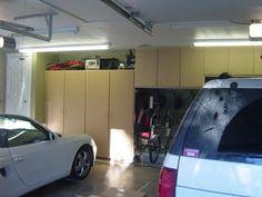 Grey Garage Cabinets //www.carguygarage.com/garagecabinets1 ... on car guy furniture, car guy garage ideas, car guy garage signs,