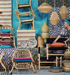 Ikea Launches JASSA | Rattan + Textiles Collection | Poppytalk